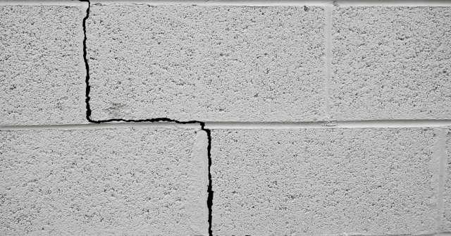 crepe muro esterno