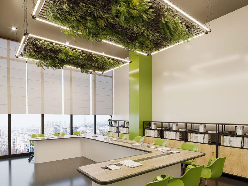 giardino in ufficio