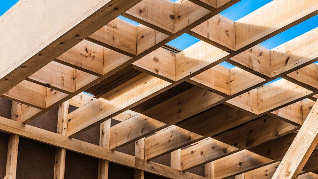 sopraelevazione con struttura in legno