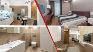 ristrutturazione appartamento 80 mq ticino