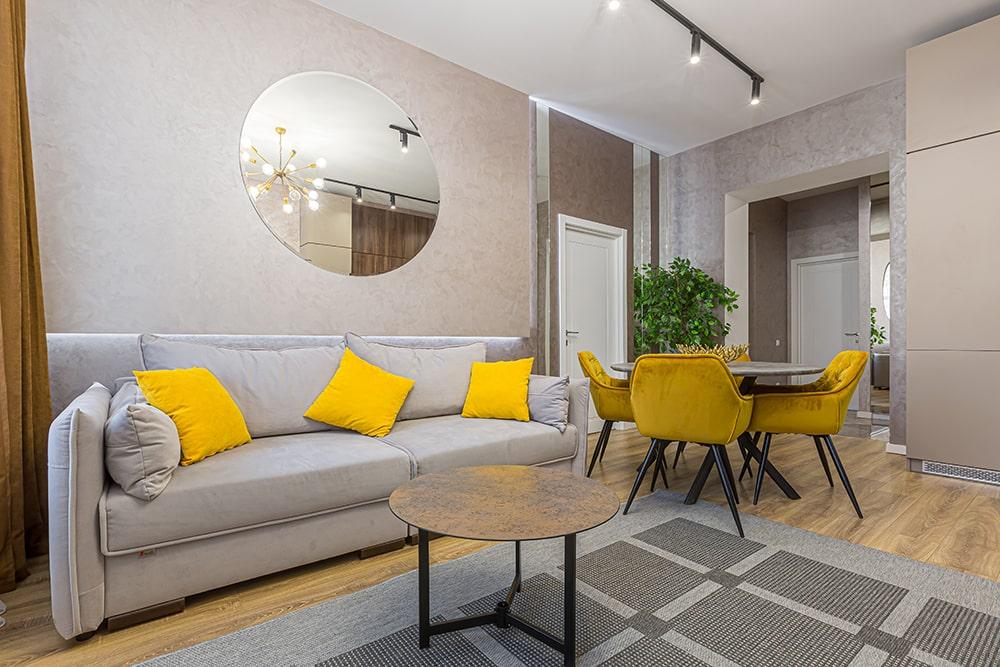 ristrutturazione appartamento 70 mq salotto
