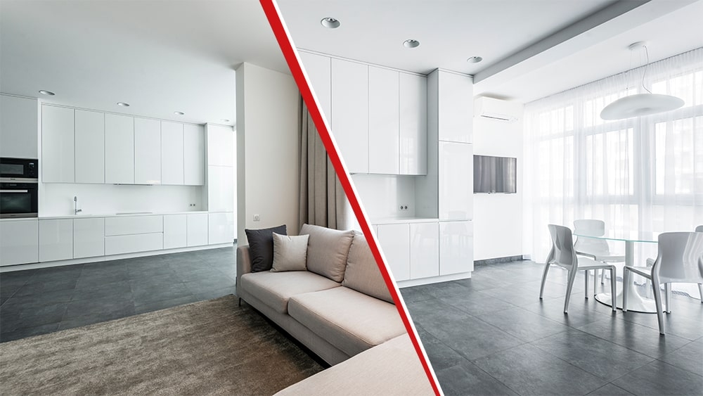 ristrutturazione appartamento 90 mq cucina