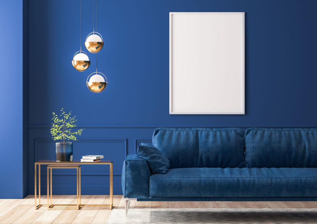 colori estate 2021: il blu